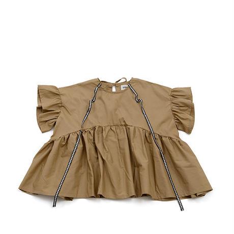 【 UNIONINI 】ribbon blouse