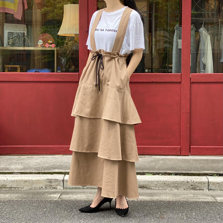 【 Create Clair 】Raffle jumper skirt (スカート)