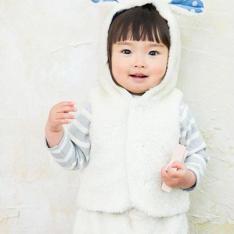 【 whip cream 】ボアベビースーツ