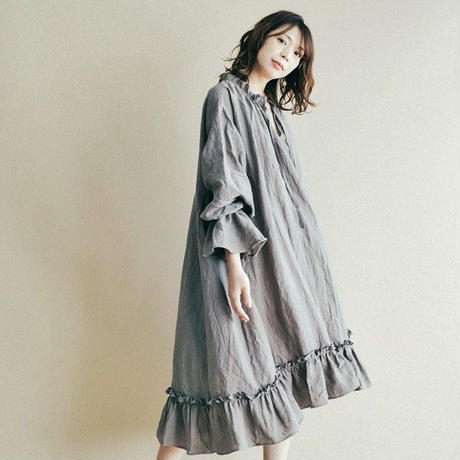【 Ruimeme 】petal long dress