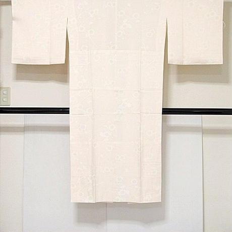 【長襦袢】正絹 袷 胴抜き 新品白半衿付き 居敷当付き 淡ピンク☆157cm前後ベスト【美品】
