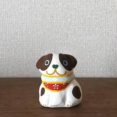 干支 戌土鈴 Claybell of Dog