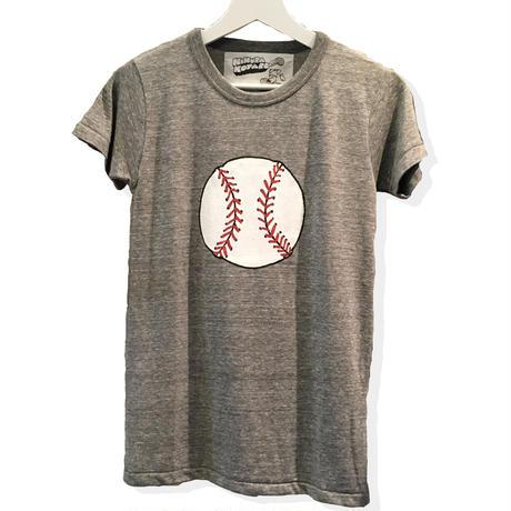 [残りわずか]ベースボールTシャツ 〜シリーズボール〜