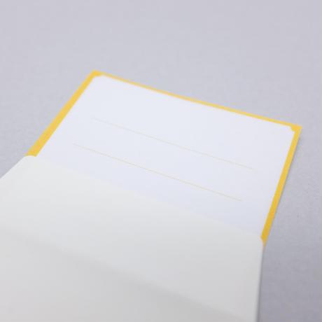 A4クリアファイル&ひとこと箋(封筒付き)