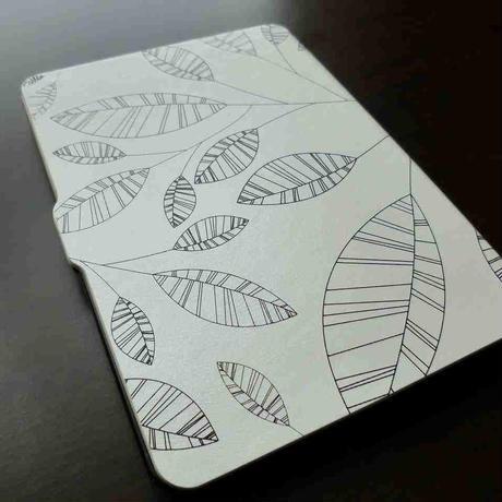 薄型 木の葉デザイン