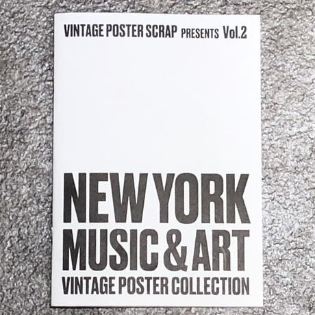 NEW YORK Vintage Poster Collection ZINE Limited 250