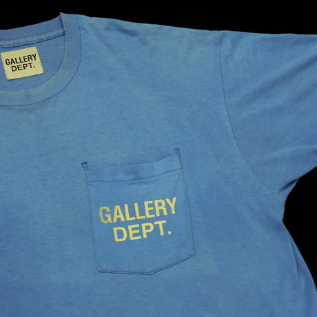 GALLERY DEPT.  Logo tee  (Blue) 2