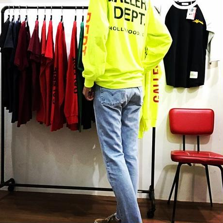 GALLERY DEPT.  Construction Long Sleeve Tee