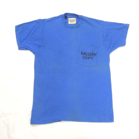 GALLERY DEPT.  Logo tee  (Blue)