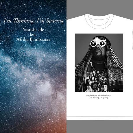 《7inch+T-SHIRT》Yasushi Ide feat.Afrika Bambaataa/I'm Thinking,I'm Spacing