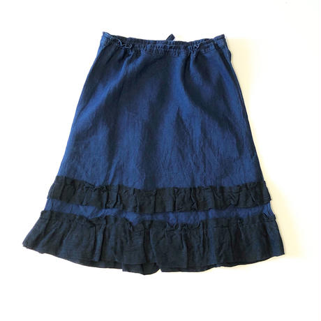 dosa skirt w/kyrgyz pleats