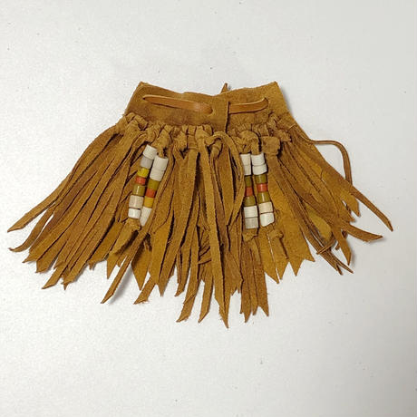 RTH SHOE KILTIES-REGULAR BEADS(NATURAL)