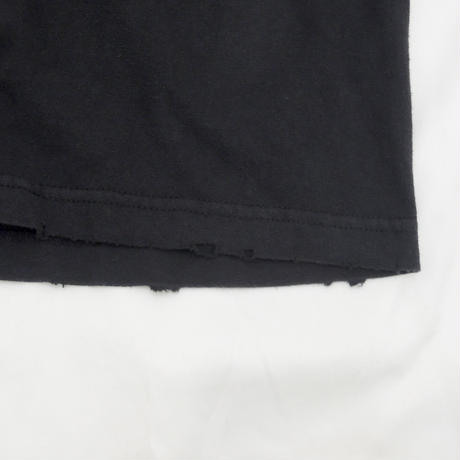 GALLERY DEPT. Plain Distressed Tee black