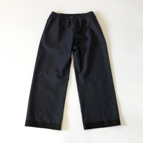 dosa pants w/lace -midnight-