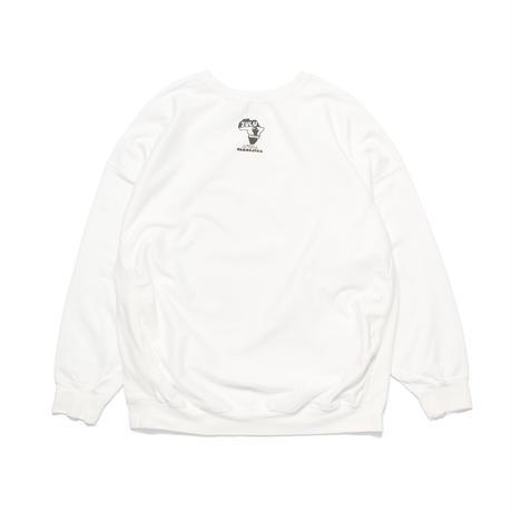 Afrika Bambaataa-Phase2 flyer print sweatshirt