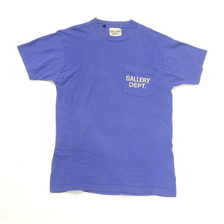 GALLERY DEPT.  Logo tee (Royal Blue)