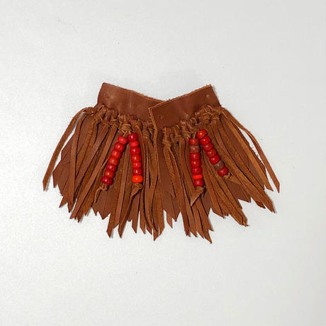 RTH SHOE KILTIES-REGULAR BEADS(COGNAC 1)