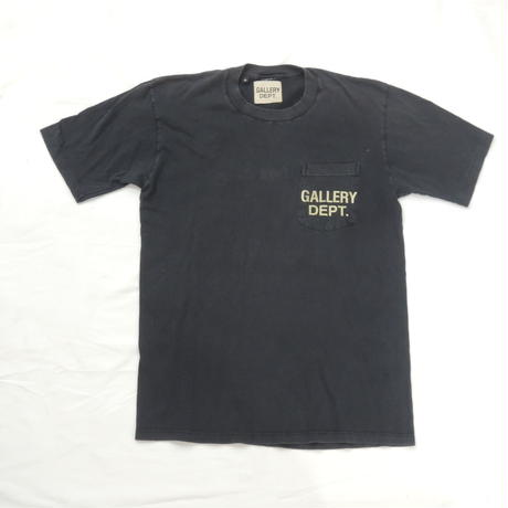 GALLERY DEPT.  Logo tee  (Black)