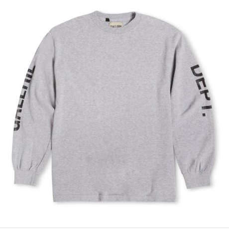 GALLERY DEPT. French Collector L/S Tee -GREY