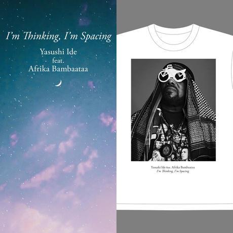 《CD+T-SHIRT》Yasushi Ide feat.Afrika Bambaataa/I'm Thinking,I'm Spacing