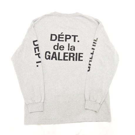 GALLERY DEPT. French logo L/S Tee (Grey)