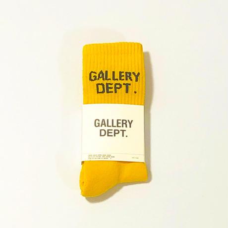 GALLERY DEPT.  CLEAN SOCKS - YELLOW