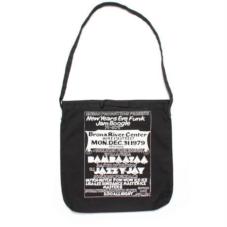 BUDDY ESQUIRE Design 12inch 2 way Bag (BLACK)