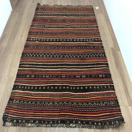 Vintage Afghan Rug  245cm×116cm