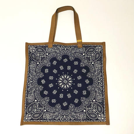 RTH SIMPLE TOTE - BANDANA - W/ EL PASO SAND TRIM