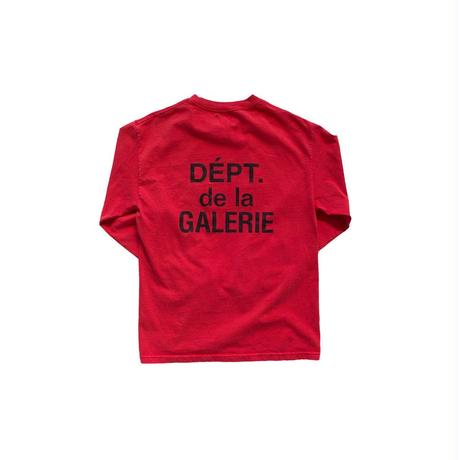 GALLERY DEPT. French Collector L/S Tee - Red