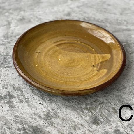【宮野さとみ】スリップ皿 8寸