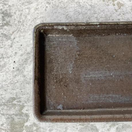 【庄司理恵】黒 短冊皿