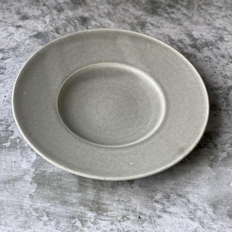 【南江里子】8寸ワイドリム皿