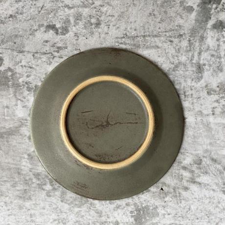 【南江里子】4.5寸リム皿