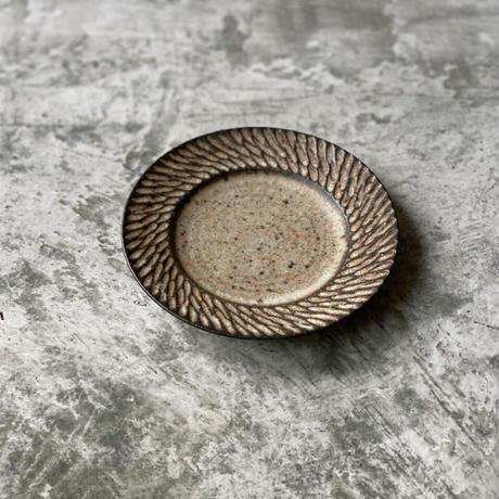 【山本雅則】リムプレート(平皿) 5寸