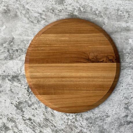 木の丸プレート