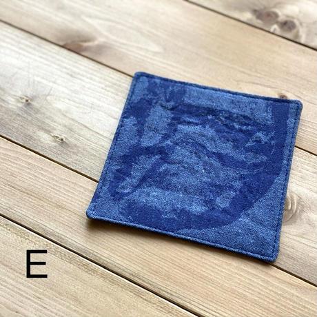 【パンと器/BREAD1set 笹原由子】コースター ブルー
