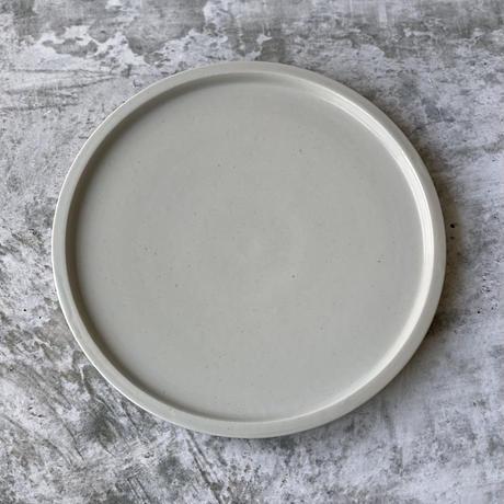 【こいずみみゆき】リム皿 8寸