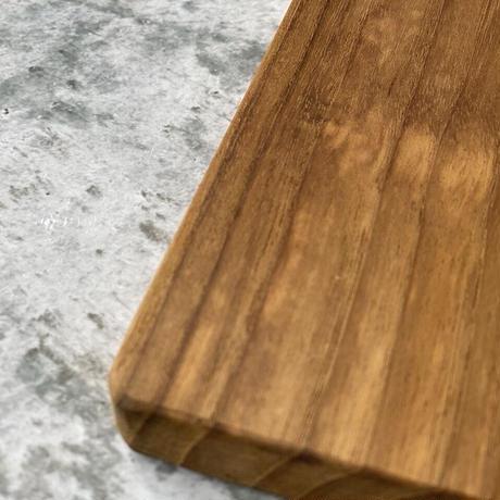 木の四角プレート