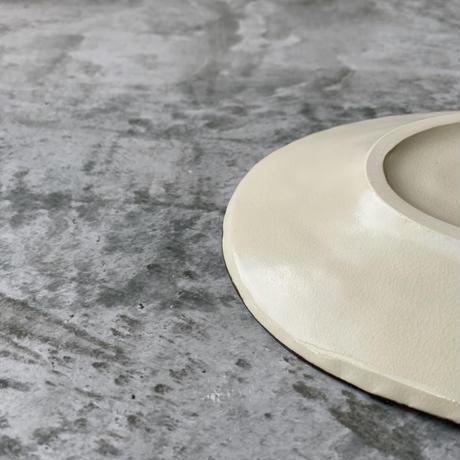 【桂さえか】オーバル皿(中クロワッサン)