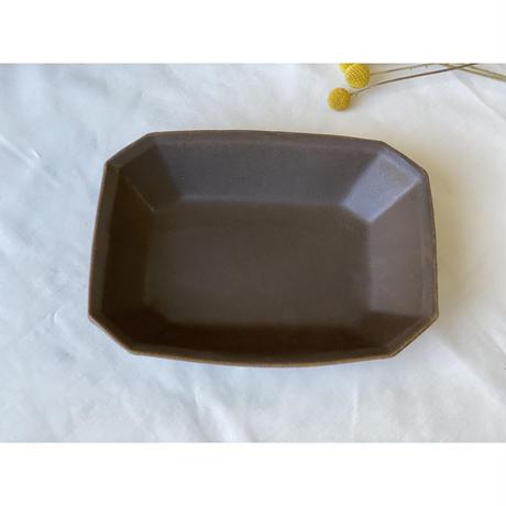 【古谷浩一】八角深鉢 小 サビ釉