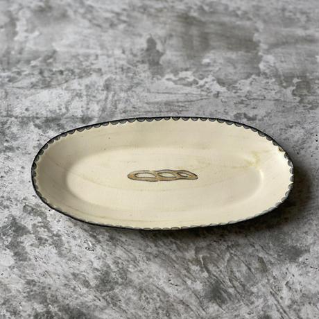 【桂さえか】オーバル皿(縦長フランスパン)