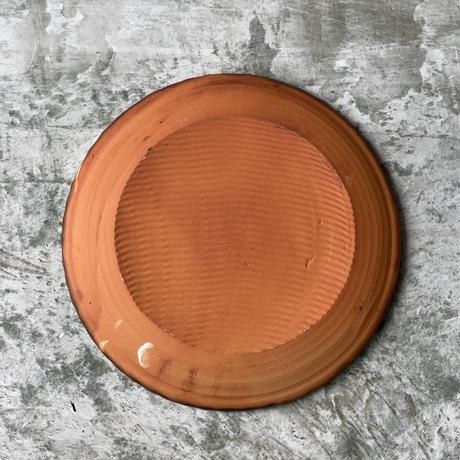 【宮野さとみ】スリップ皿 d
