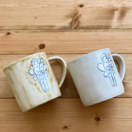 【桂さえか】マグカップ 天使