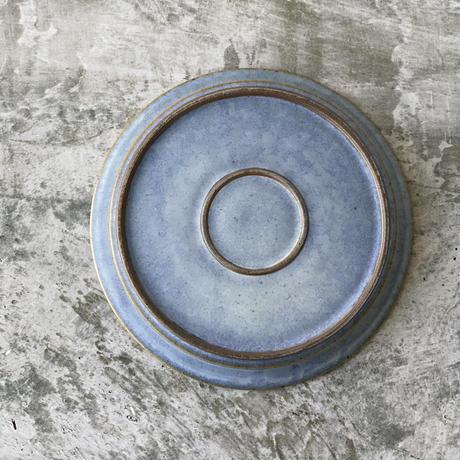 【中林範夫】7寸リムプレート 青