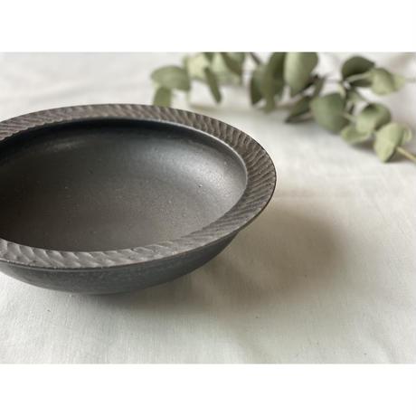 【山本雅則】カレー皿 黒