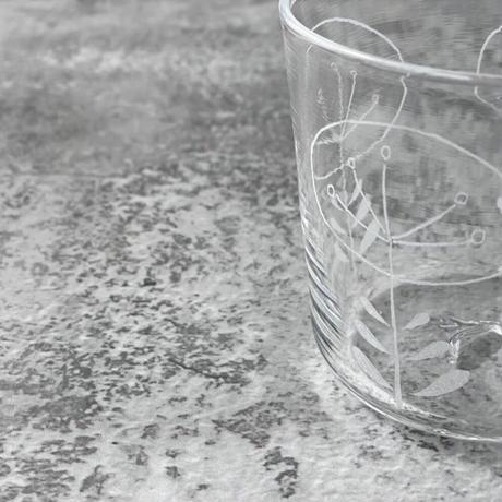【神澤麻紀】flower-glass