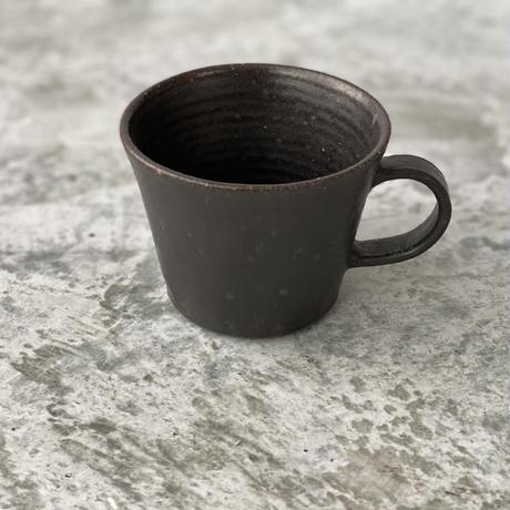 【伊藤豊】マグカップ  黒