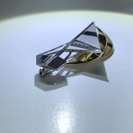 ゴールド ダイアモンド マルチブローチ