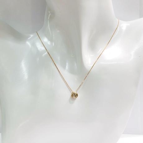 ピンクゴールド ダイヤモンド ネックレス